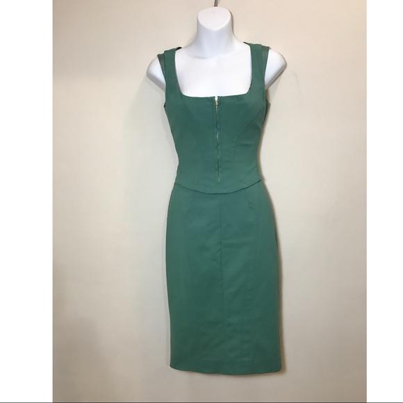 Dolce & Gabbana Dresses & Skirts - Dolce & Gabbana emerald /teal  bodycon dress